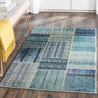 Damien Blue Area Rug Rug Size: Rectangle 6'7