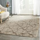 Valmer Mouse Oriental Gray Area Rug Rug Size: Rectangle 5'3