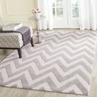 Daveney Hand-Tufted Wool Silver/Ivory Area Rug Rug Size: Rectangle 8' x 10'