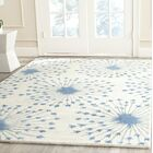 Zandbergen hand-Tufted/Hand-Hooked Wool Beige/Blue Area Rug Rug Size: Rectangle 5' x 8'