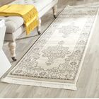 Mckain Cream/Gold Area Rug Rug Size: Runner 2'3