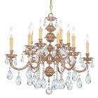 Brandt 12-Light Crystal Chandelier