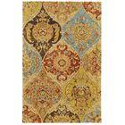 Tommy Bahama Jamison Beige / Multi Floral Rug Rug Size: Rectangle 5' x 8'