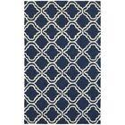 Atrium Trellis Panel Blue & Ivory Indoor/Outdoor Area Rug Rug Size: Rectangle 5' x 8'