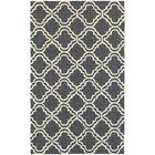 Atrium Trellis Panel Grey/Ivory Indoor/Outdoor Area Rug Rug Size: Rectangle 3'6