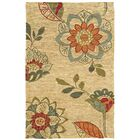 Tommy Bahama Valencia Beige / Multi Floral Rug Rug Size: Rectangle 10' x 13'