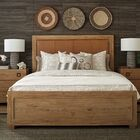 Los Altos Upholstered Panel Bed Size: California King