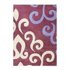 Alliyah Mouvewood Area Rug Rug Size: 8' x 10'