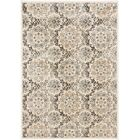 Rosalyn Transitional Beige Area Rug Rug Size: Rectangle 5'3