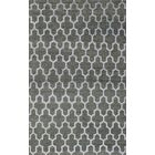 Dearth Hand-Knotted Green Area Rug