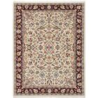 Azaiah Hand-Knotted Cream Area Rug