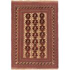Pacheco Hand-Woven Copper/Light Gold Area Rug
