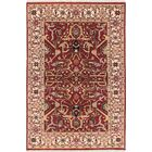 One-of-a-Kind Doerr Hand-Knotted Red Rectangle Oriental Area Rug