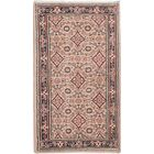 Ivan Hand-Knotted Beige/Ivory Area Rug