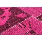Deegan Vintage Hand-Knotted Pink Area Rug
