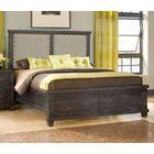 Langsa Upholstered Wood Platform Bed Size: California King, Color: Caf�