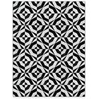 Patchwork Cowhide No. 1 Black/Gray Area Rug Rug Size: Rectangle 6' x 8'