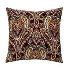 Hudson Throw Pillow Color: Merlot