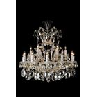 La Scala 19-Light Candle Style Chandelier Color: Clear