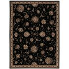 Serenade Hand Woven Black Area Rug Rug Size: Rectangle 10' X 13'