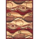 Lipan Waves Area Rug Rug Size: 7'9