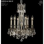 Biella 6-Light Candle Style Chandelier Finish: French Gold Glossy, Crystal: Precision Crystal French Pendaloque Clear