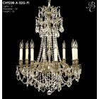 Biella 8-Light Candle Style Chandelier Finish: Empire Bronze, Crystal: Precision Crystal Oval Clear