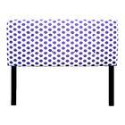 Ali Jojo Upholstered Panel Headboard Upholstery: Thistle, Size: Full