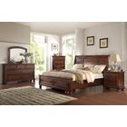 American Heritage Panel 5 Piece Bedroom Set