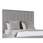 Handley Upholstered Panel Bed Color: Gray, Size: High Height Queen
