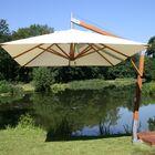 Sidewind 10' Square Cantilever Umbrella Fabric: Ecru