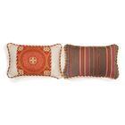 Reinoso Small Indoor/Outdoor Sunbrella Throw Pillow
