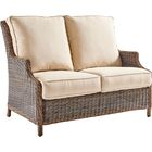 Fannin Loveseat with Cushion Color: Cast Silver