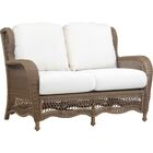 Stoneburner Loveseat with Cushion Color: Canvas