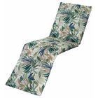 Arin Chaise Lounge Cushion Fabric: Chambray
