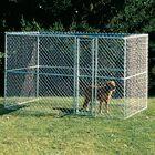 Derek Steel Chain Link Portable Yard Kennel Size: (72