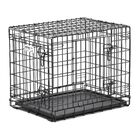 Ultima Pro Fold and Carry Double Door Pet Crate Size: Small (24