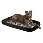 Labrador Quiet Time Couture Sofia Crate Pad Bolster Size: 22.75