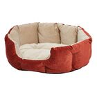 Labrador Quiet Time Deluxe Tulip Pet Bolster Color: Russet, Size: 26