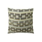Square Link Handmade Throw Pillow  Size: 22