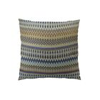 Zig Along Handmade Throw Pillow Size: 24