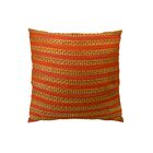 Tied Rows Throw Pillow Size: 20