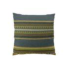 Chic Stripe Handmade Throw Pillow  Size: 26