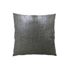Glazed Linen Indigo Handmade Throw Pillow Size: 16