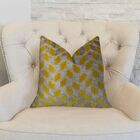 Velvet Rope Handmade Throw Pillow Size: 18
