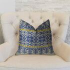 Aztec City Double Sided Throw Pillow Size: 20