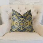 Rhythm Waves Double Sided Throw Pillow Size: 22
