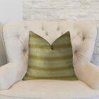 Full Stripe Handmade Throw Pillow Size: 20