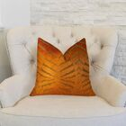 Magnetism Throw Pillow Size: 12