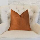 Lone Oak Cayenne Handmade Throw Pillow Size: 26